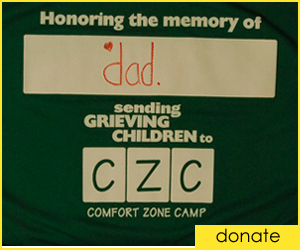 Donate to Comfort Zone Camp!